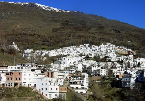 pueblo más alto de España. Trévelez