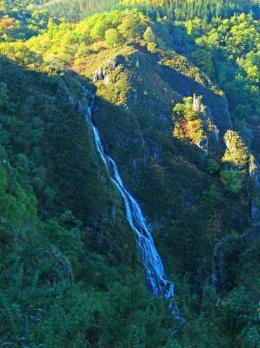 ruta a la cascada de Aitzondo