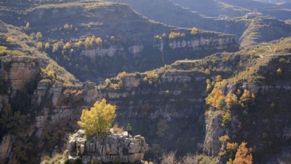 Ruta por el cañón del río Leza