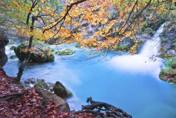 urederra otoño